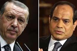 الرئيس السيسي وأردوغان