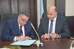 بروتوكول تعاون بين محافظة البحر الأحمر والاتصالات