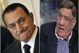 الرئيس الأسبق مبارك و المحاور مفيد فوزي