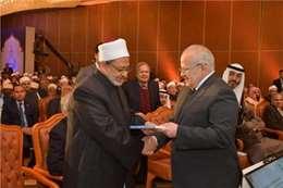 شيخ الأزهر د.أحمد الطيب ورئيس جامعة القاهرة