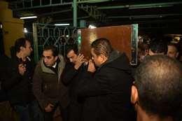 جنازة والد إيهاب توفيق