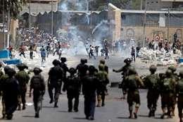 مواجهات بين قوات الاحتلال والفلسطينيين