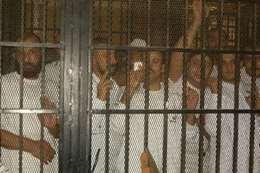 مسجونين