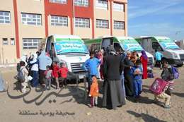 قوافل علاجية بجنوب بورسعيد