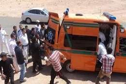 إصابة ضابطين مرور في حادث سير بالعريش