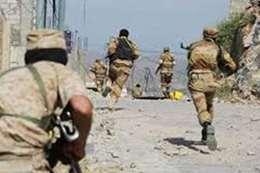 معارك مع الجيش شرقي صنعاء