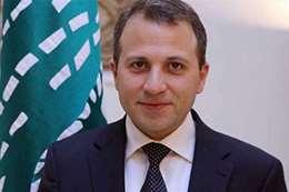 وزير الخارجية اللبنانى