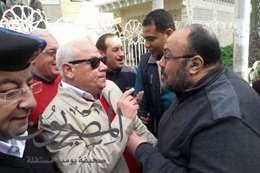 حوار الغضبان مع المواطنين عقب صلاة الجمعة
