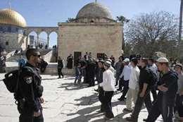 مستوطنون  يقتحمون المسجدالأقصى ارشيفية