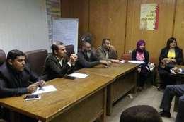 عبد الجواد يجتمع مع أطباء الوحدات الصحية بالأقصر