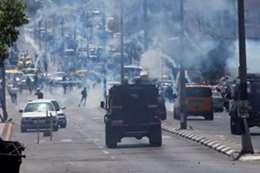 مواجهات بين المتظاهرين وقوات الاحتلال
