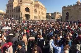 تظاهرات الازهر