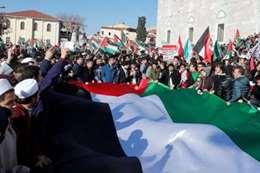 مظاهرات تأييد القدس