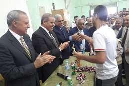 زيارة رئيس جامعة الأزهر لهندسة قنا