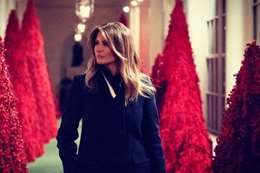ميلانيا ترمب تكشف عن سرقة نادرة في البيت الأبيض