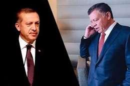 «أردوغان» وملك الأردن