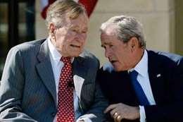 """مستشار بن زايد: رحمة الله علي """" جورج بوش"""""""
