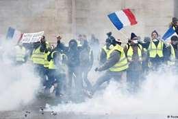 احتجاجات فرنسا