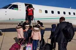 ليبيا تسلم 12 طفلا من أبناء داعش للحكومة المصرية