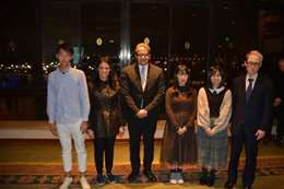 وزيرة السياحة مع الوفد الياباني