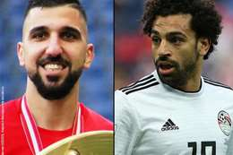 محمد صلاح واللاعب الإسرائيلي