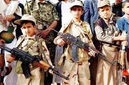 مقتل 50 طفلا جندهم الحوثي للقتال
