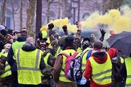 تظاهرات السترات الصفراء
