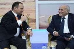 العصار مع وزير البيلاروسى