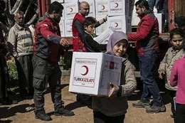 مساعدات تركية (أرشيفية)