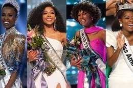 """ملكات جمال أميركا و تونزي """"أقصى اليسار"""""""
