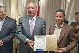 مراسل المصريون مع المحافظ أحمد عبد الله