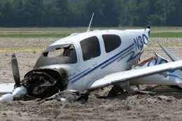 مصرع 9 في تحطم طائرة أمريكية