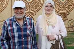 حسن يوسف وزوجته شمس البارودي