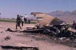 تحطم طائرة عسكرية غرب إيران