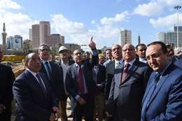 مدبولي خلال زيارته لميدان التحرير