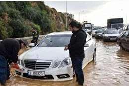 أمطار في لبنان