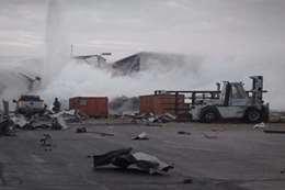 انفجار يضرب مصنع طائرات أمريكية