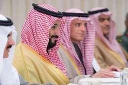 ولي العهد السعودي وعادل الجبير