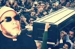 صورة أرشيفية من جنازة الشيخ كشك