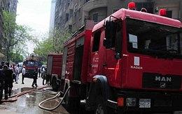الحماية المدنية تسيطر على حريق منزل بإيتاى البارود