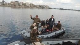 ضبط 7 أشخاص لإدارتهم معدية بدون ترخيص بأبو حمص