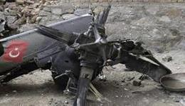 مصرع ٤ أشخاص جراء سقوط مروحية عسكرية في تركيا