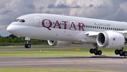 """انفجار بمحرك طائرة قطرية يجبرها على الهبوط بـ""""إسطنبول"""""""