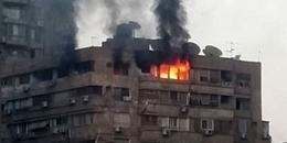 """""""الحماية المدنية"""" تسيطر على حريق شقة بحلوان"""