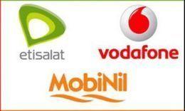 شركات الاتصالات الثلاث توقع للحصول على الجيل الرابع