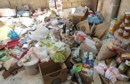ضبط سلع غذائية فاسدة في سوهاج