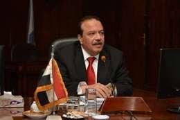 الدكتور مجدى السبع رئيس جامعه طنطا ـــ أرشيفية