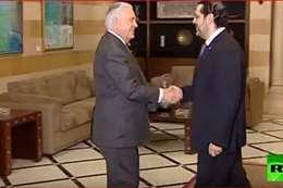 الحريري يستقبل وزير الخارجية الأمريكي في بيروت