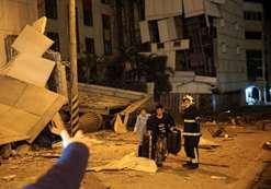 بالصور..  قتيلان وأكثر من 100 جريح بسبب زلزال بقوة 6.4 ضرب تايوان