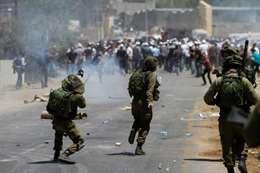 اشتباكات مع الاحتلال الإسرائيلي